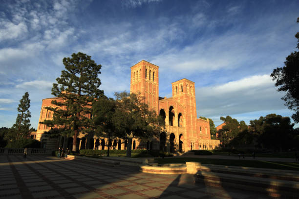 Royce Hall at UCLA - University of California, Los Angeles Los Angeles, United States - December 23, 2011: Royce Hall at UCLA - University of California, Los Angeles. royce lake stock pictures, royalty-free photos & images