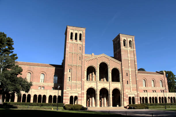Royce Hall at UCLA - University of California, Los Angeles Los Angeles, United States - January 04, 2015: Royce Hall at UCLA - University of California, Los Angeles. ucla medical center stock pictures, royalty-free photos & images