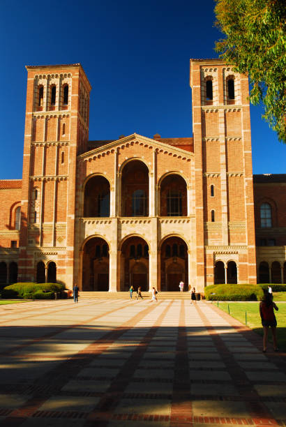 Royce Hall, UCLA Los Angeles, CA, USA September 23, 2008 The Center of the Art of Performance on the campus of UCLA, is housed in the historic Royce Hall in Los Angeles, California royce hall stock pictures, royalty-free photos & images