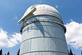 Rozhen, Bulgaria - July 19, 2015: Rozhen Observatory is a Bulgarian astronomical observatory. It is owned and operated by the Institute of Astronomy of the Bulgarian Academy of Sciences. The Observatory is the largest in Southeastern Europe.
