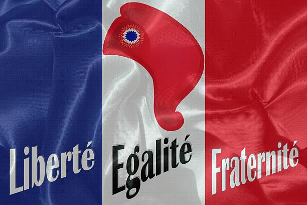 république française -  drapeau de france - république photos et images de collection