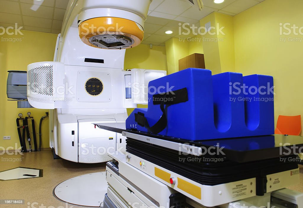 Rradiotherapy technology stock photo
