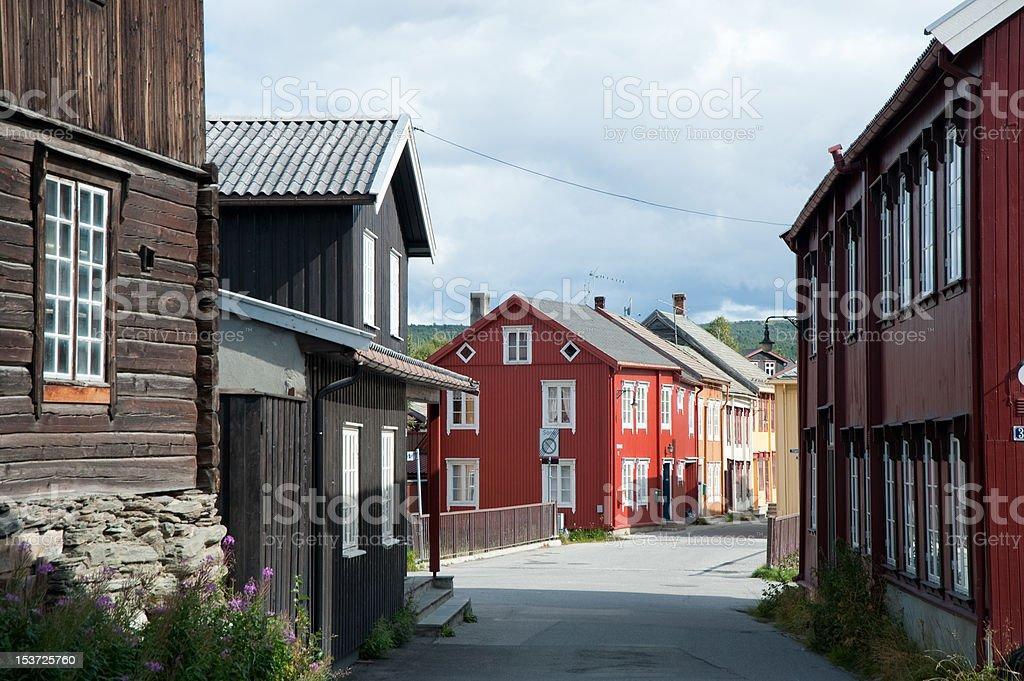 Röros, Norway royalty-free stock photo