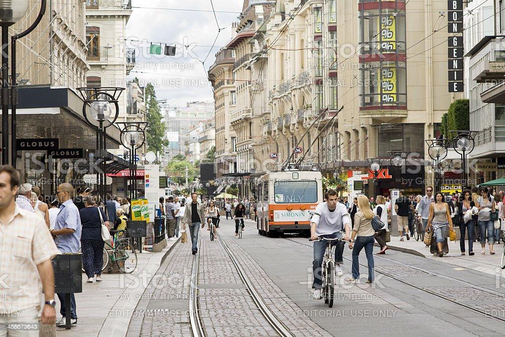 Rua du Marche in Genf