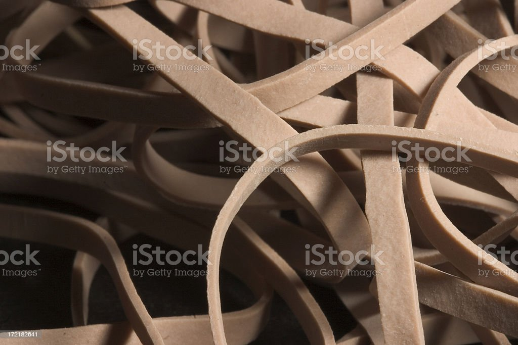 Rubber Band Pasta royalty-free stock photo