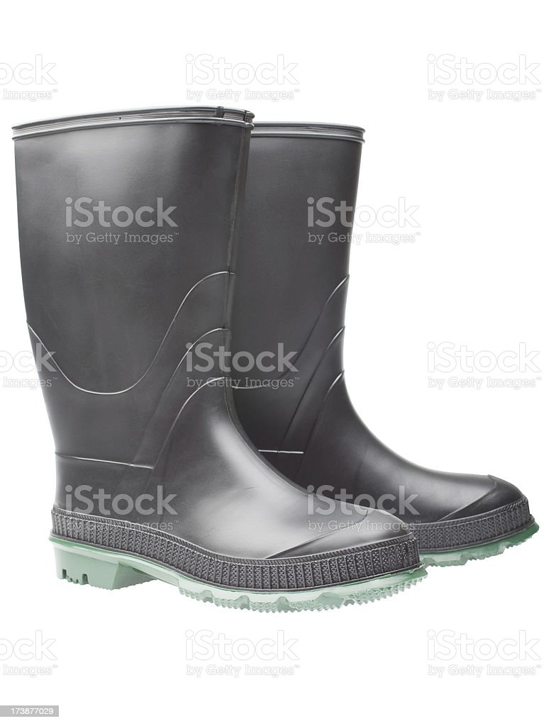 rubber boots (XXL) royalty-free stock photo