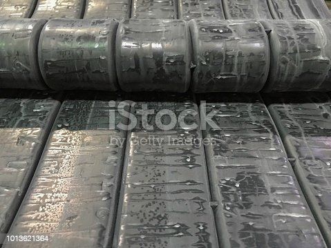 istock Rubber compound for production 1013621364