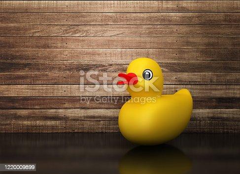 Rubber Duck - 3D Rendering