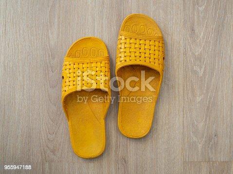 istock Rubber Flip Flop 955947188