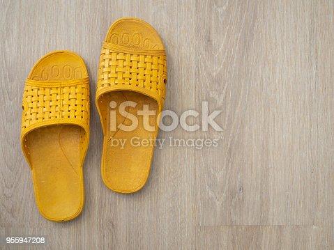 istock Rubber Flip Flop 955947208