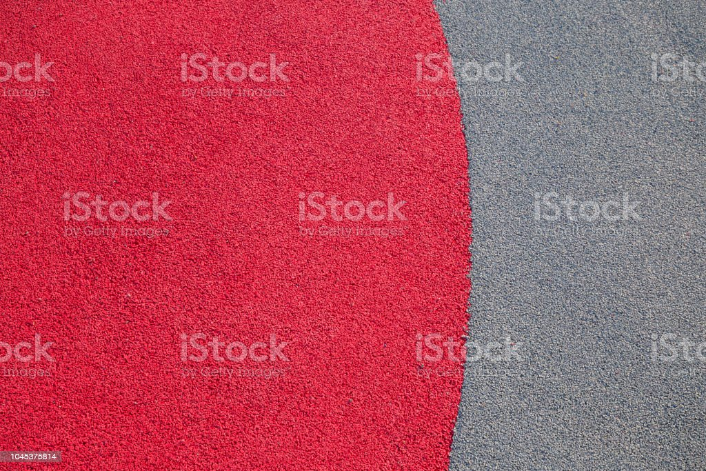 Rubber floor texture. Granules playground cover background
