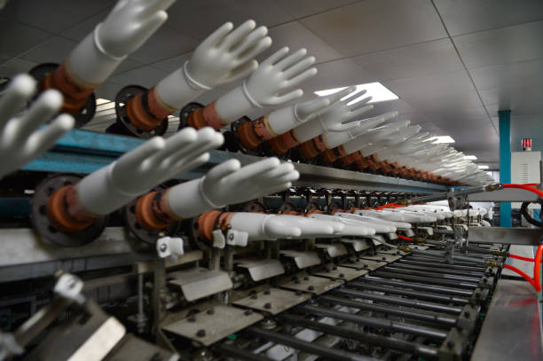 Rubber gloves production line – zdjęcie