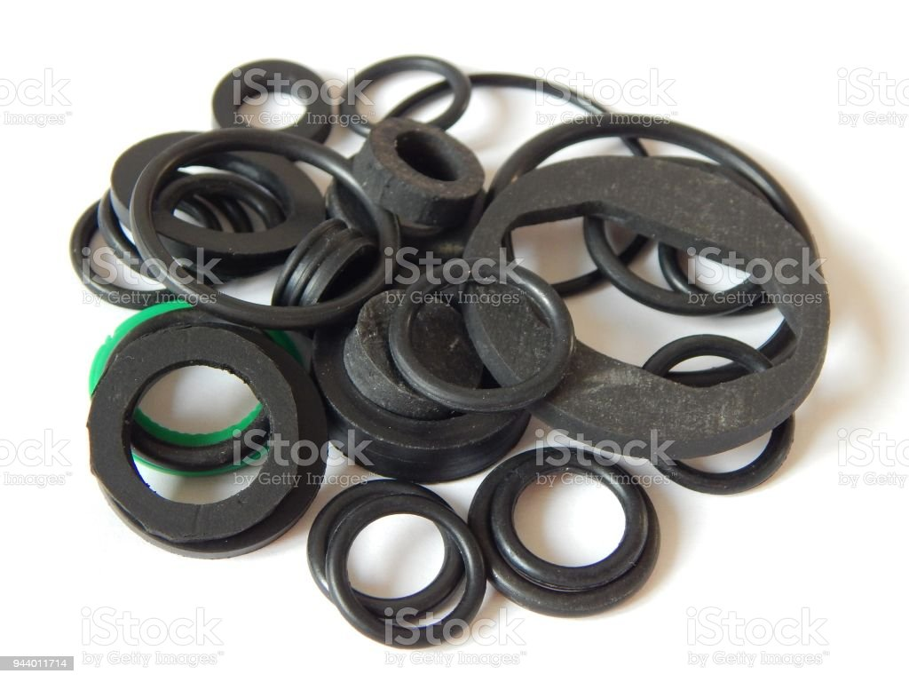 Rubber Rings The Photo Sealing Gaskets For Hydraulic Joints Rubber ...