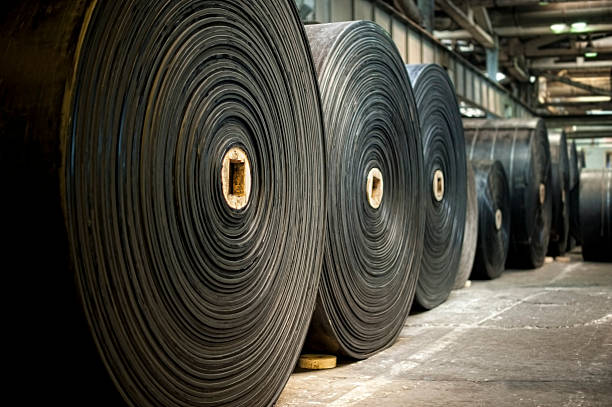 rubber rolls - rubber stock photos and pictures