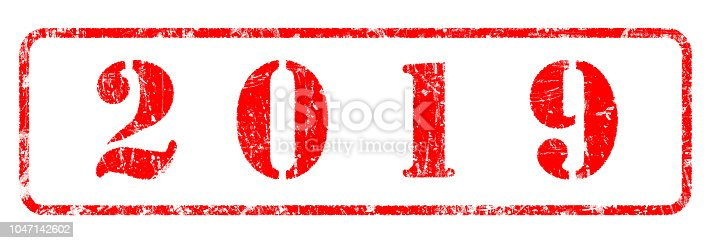 istock 2019  - Rubber Stamp 1047142602