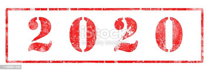 1063751940 istock photo 2020  - Rubber Stamp 1168961430