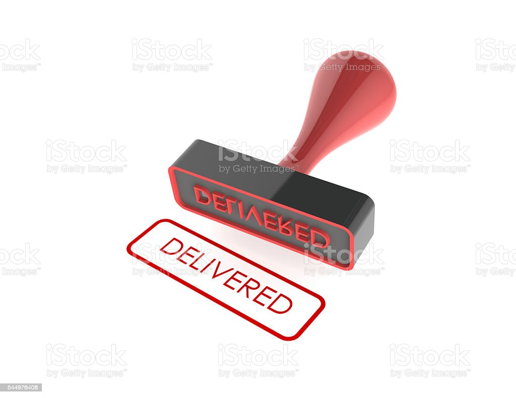 Rubber Stamp stock photo