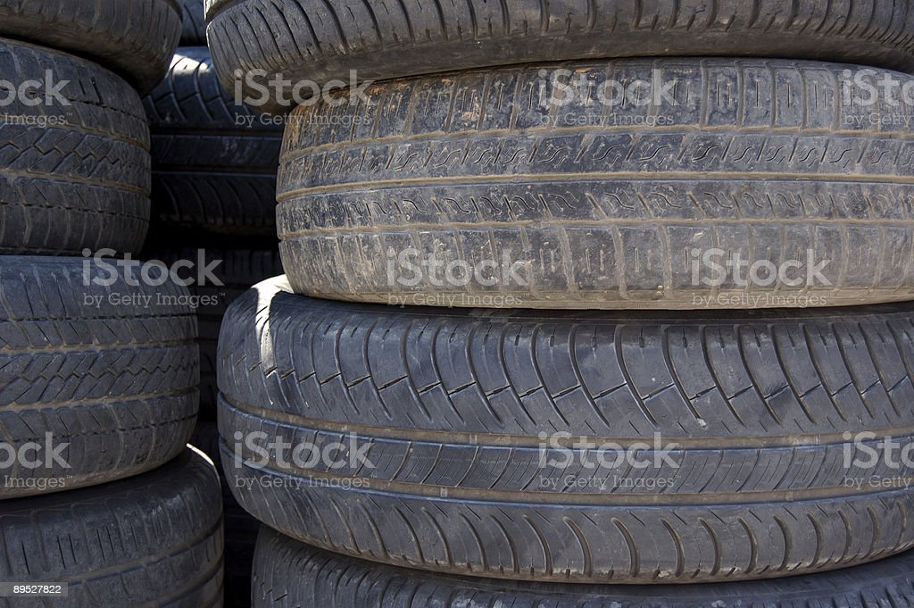rubber tires royalty-free stock photo