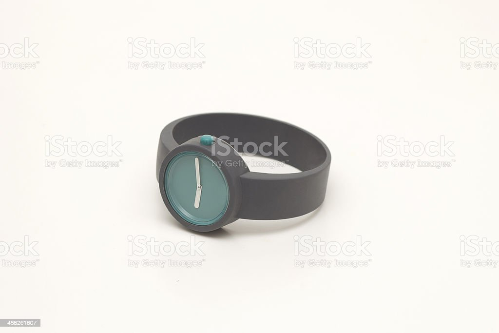 rubber watch stock photo