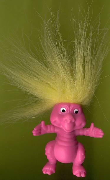 Rubbery Troll stock photo