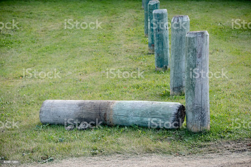 rubble hill stock photo