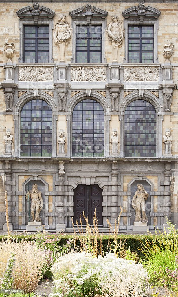 Rubenshouse Antwerp royalty-free stock photo