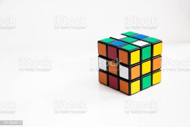 Rubiks cube on the white or wooden background picture id1074633212?b=1&k=6&m=1074633212&s=612x612&h=b1j66yfja4ln6oks4edyg7lcp9obim7sqxmnpm3lobw=