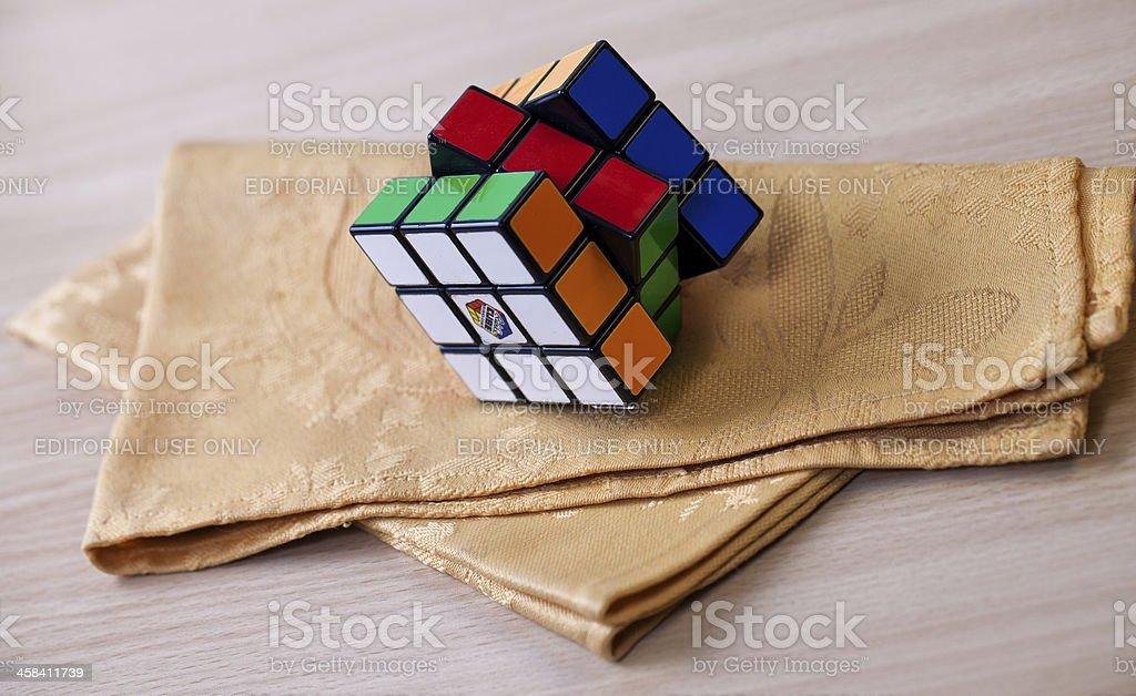 Rubik's cube royalty-free stock photo