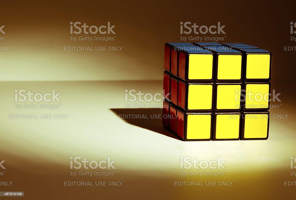 Rubiks Cube foto de stock libre de derechos
