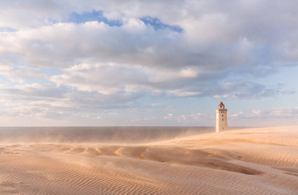 Rubjerg Knude stock photo