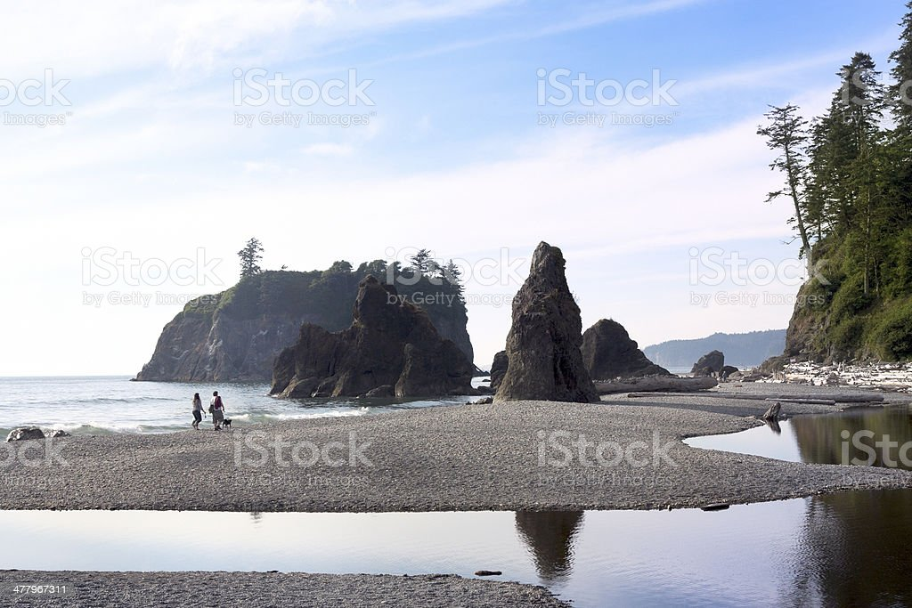 Ruby Beach, Olympic National Park stock photo