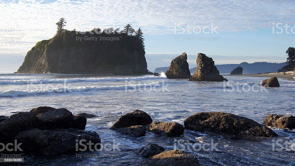 Ruby Beach, Olympic National Park, Washington stock photo