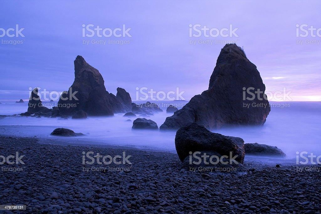 Ruby Beach stock photo