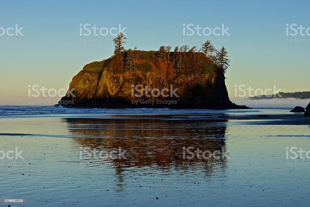Ruby Beach Sunrise stock photo