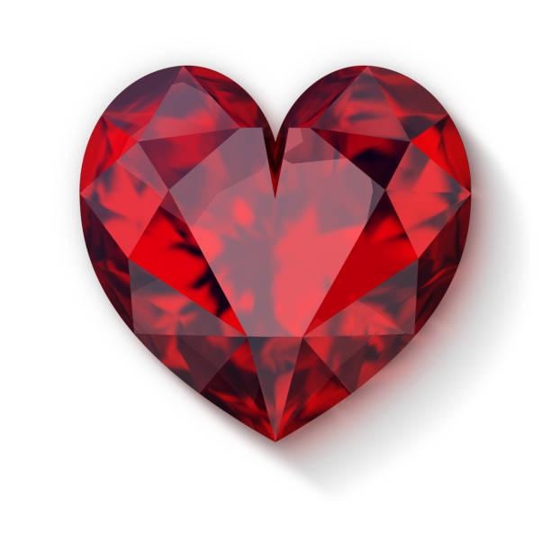 Cтоковое фото ruby heart