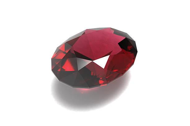 Ruby, Jewel, Gemstone stock photo