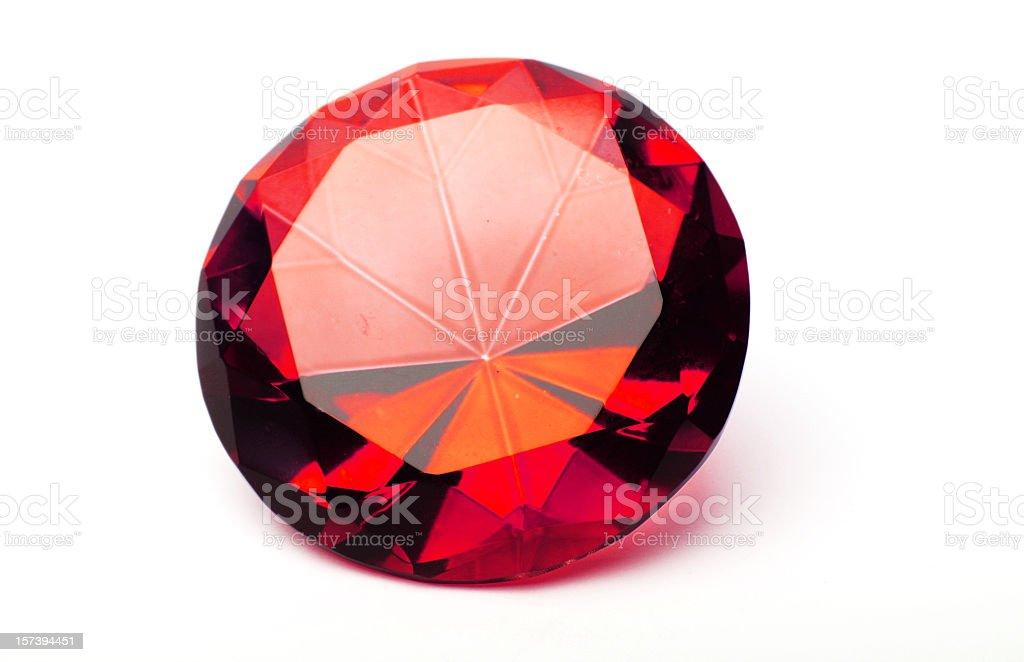 Ruby stock photo
