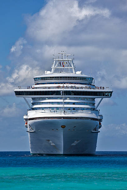 Ruby Princess Cruise Ship stock photo