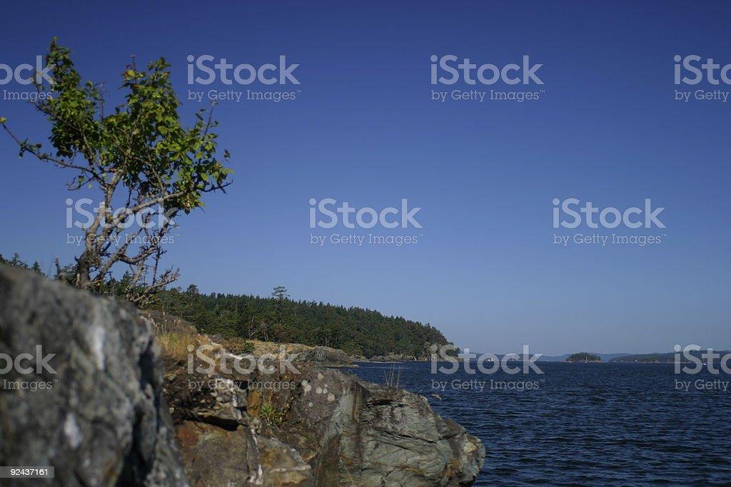 Ruckle Park Salt Spring Island royalty-free stock photo