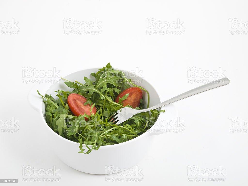 Rucola salat royalty-free stock photo