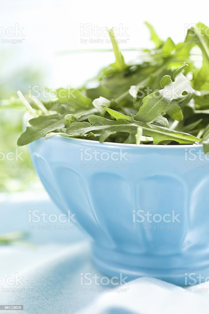 Rucula leaves royalty-free stock photo
