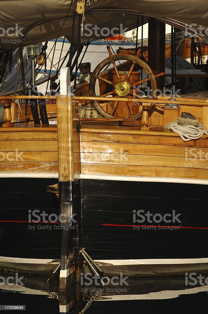 rudder royalty-free stock photo