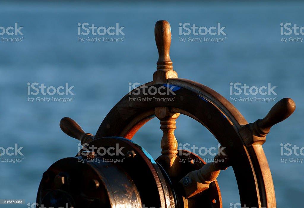 Rudder stock photo