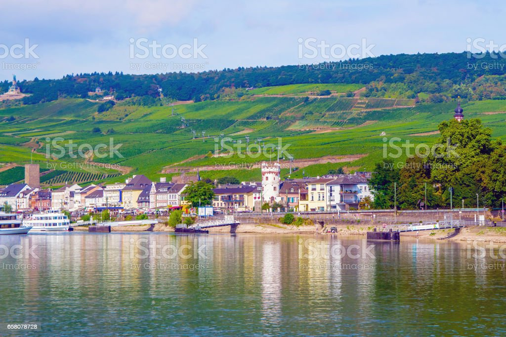 Rudesheim am Rhein, Germany royalty-free stock photo