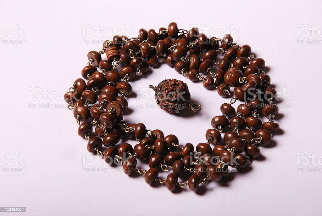 Rudraksha royalty-free stock photo