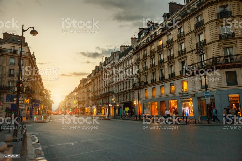 Rue de Rivoli, Paris, France Rue de Rivoli, Paris, France Architecture Stock Photo
