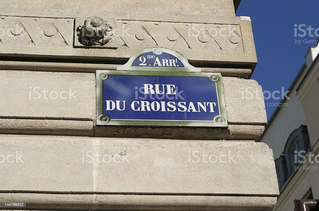 Rue Du Croissant Paris France – Photos et plus d\'images de Capitales ...