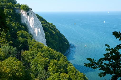 Ruegen, Chalk cliff