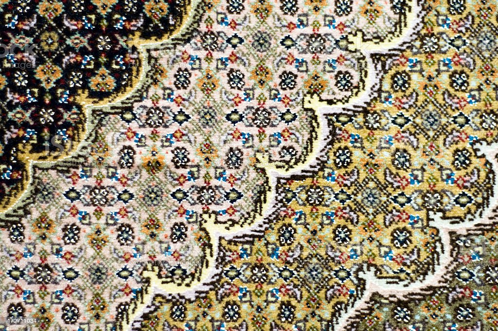 Rug Detail Background royalty-free stock photo