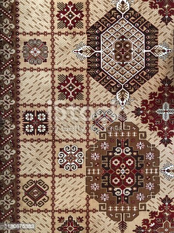 Kilim-Blanket Rug Fabric Design